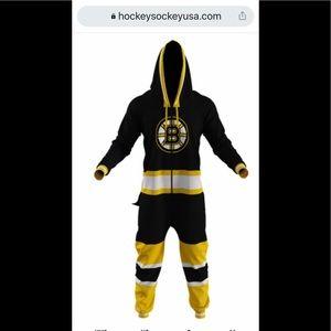Boston bruins men's onesie- brand new